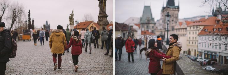 Prague prewedding session